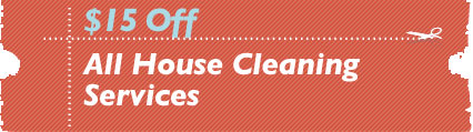 Cleaning Coupons | $15 off all house cleaning services | NJ Steamers