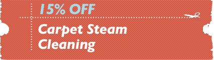Cleaning Coupons | 15% off carpet steam cleaning | NJ Steamers