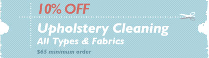 Cleaning Coupons | 10% off upholstery cleaning | NJ Steamers